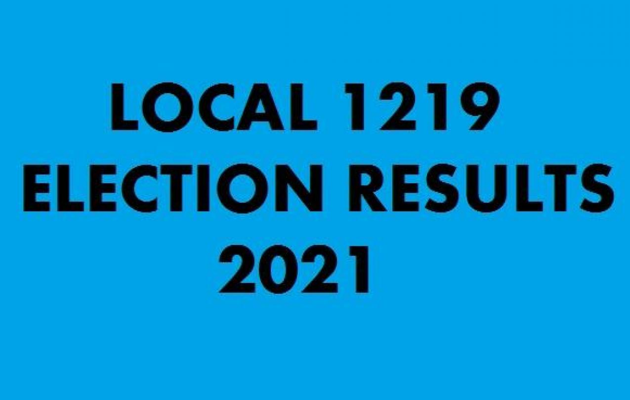 2021 ELECTION RESULTS