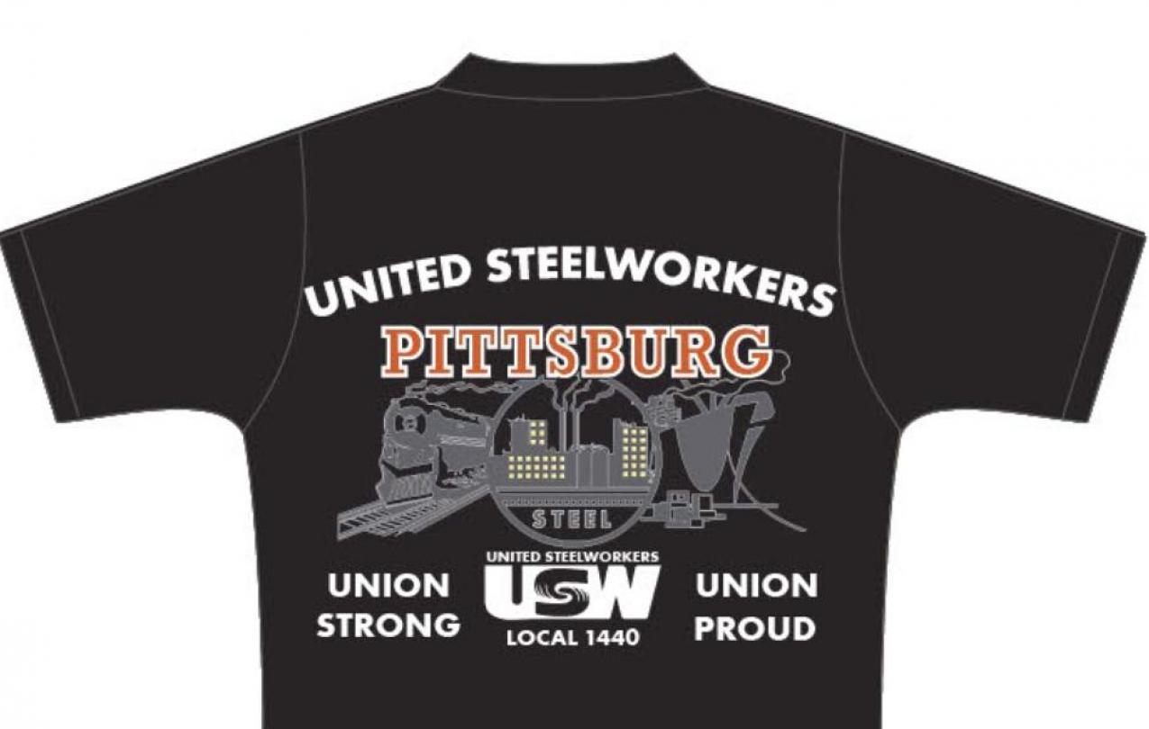 USW 1440 Union Shirt Back