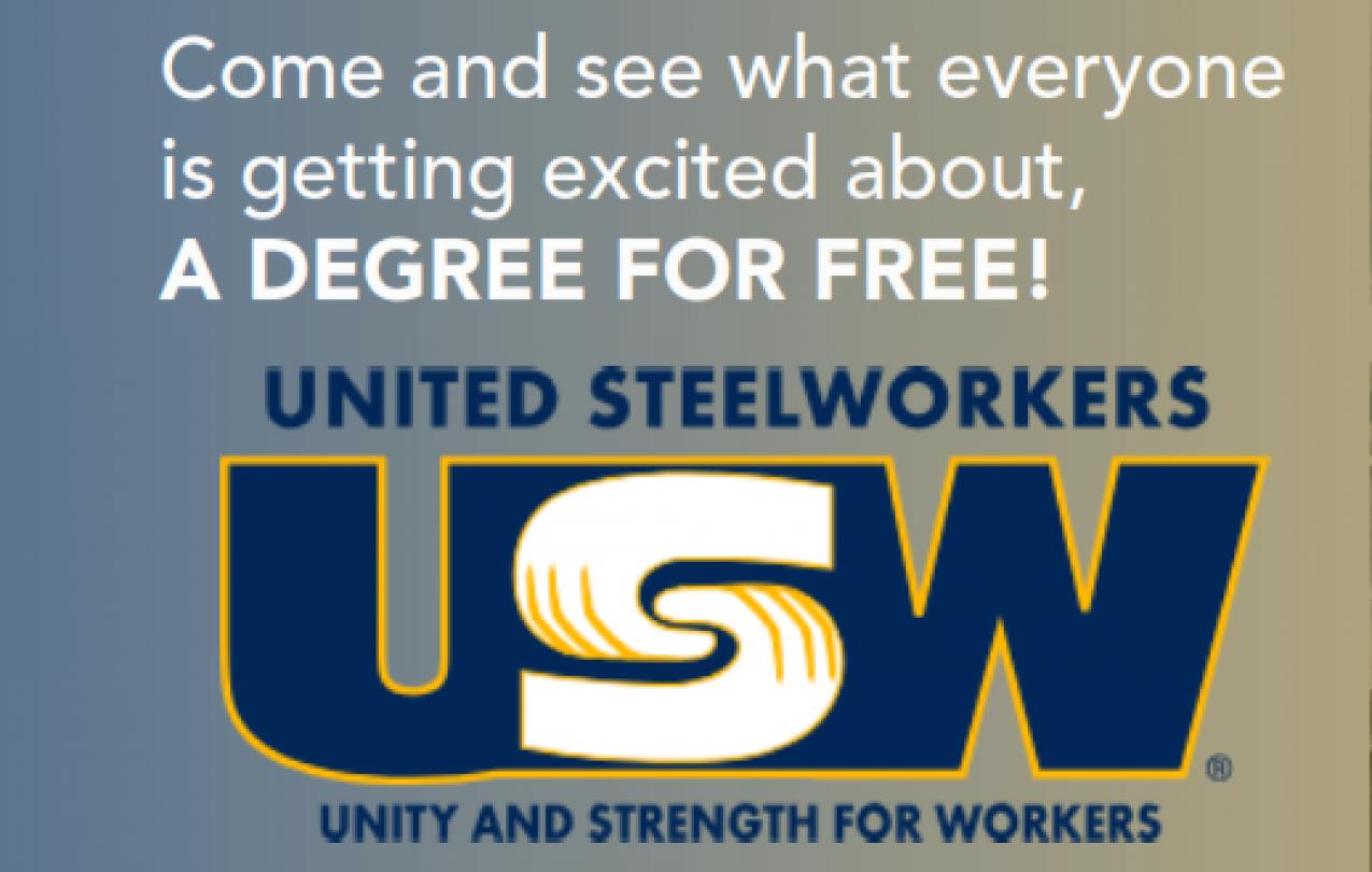 USW free college benefit