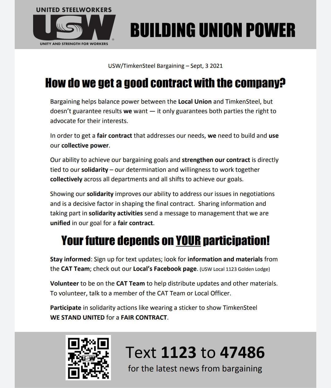 Building Union Power