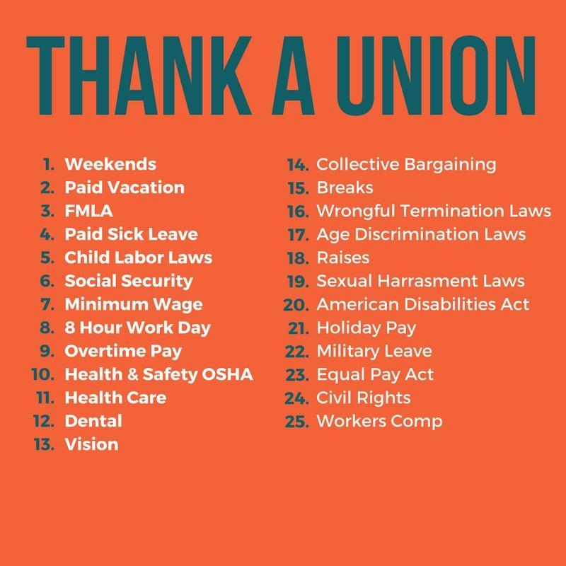 Union Accomplishments