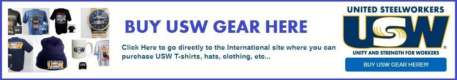 BUY USW GEAR, CLOTHING, SHIRTS, ETC